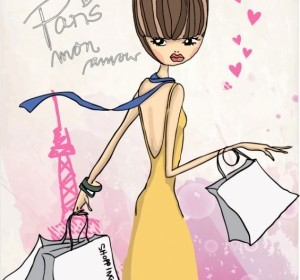 Vector Fashion Shopping Girl 04 People Vector Art