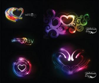Vector Symphony Of Love Valentine Day Heart Vector Art