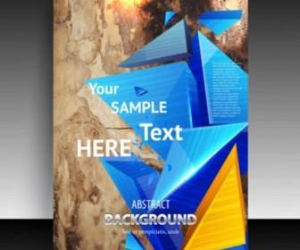 Vector Fine Leaflets Cover 02 Background Vector Art