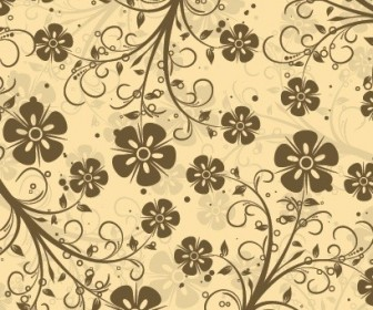 Vector Decorative Pattern Floral Vector Art