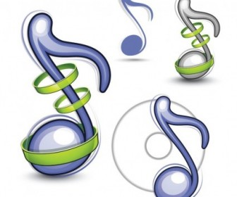 Vector Musical Note Illustration Vector Art
