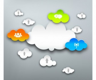 Cloud Computing Free Vector