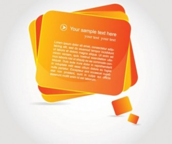 Orange Label Free Vector Graphics