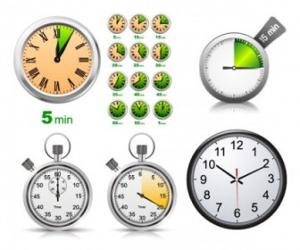 Watch Clock Free Vector Art