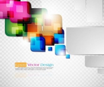 Vector Dynamic Colorful Elements 03 Abstract Vector Graphics
