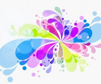 Vector Colorful Creative Background Abstract Vector Graphics