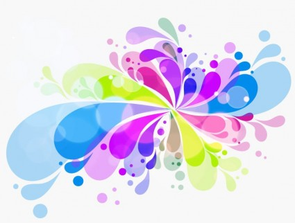 Vector Colorful Creative Background Abstract Vector
