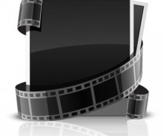 Vector Frame Film Vector Art