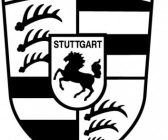 Vector Porsche Logo Vector Art