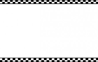 Vector Worldlabel Border Bw Checkered X Vector Clip Art