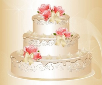 Vector Charm Of The Bride Wedding Elements 03 Vector Art