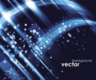 Vector Blue Star 05 Background Vector Art