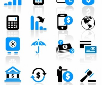 Vector Business And Finance Icons Icon Vector Graphics