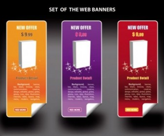 Vector Color Banners Banner03 Vector Banner