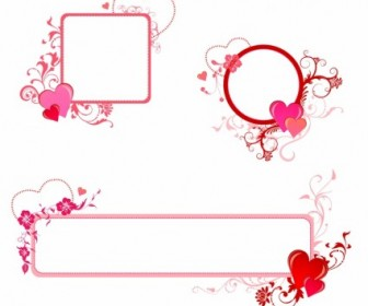 Vector Valentine Border Heart Vector Art