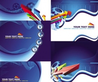Abstract Arrow Vector Background Graphics
