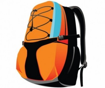 Backpack Sport Bag Vector Graphic