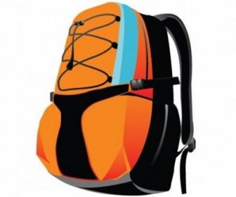 Backpack Sport Bag Vector Graphic