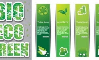 Green Design Low-carbon Vector Cover
