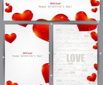 Valentine Paper Heart Pattern Vector