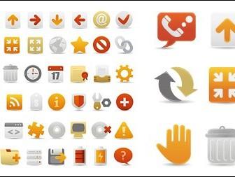 Web Design Icon Set Vector Icons
