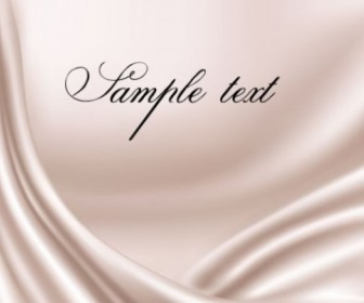Silk Background Vector Background with Texts