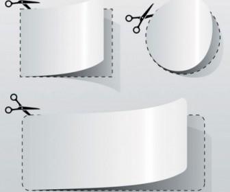Vector Cut Paper