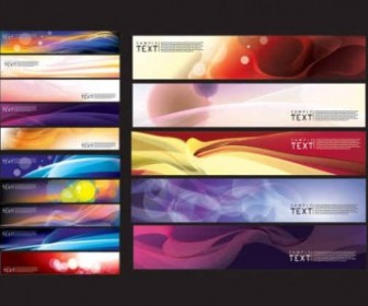 Beautiful Lighting Effects Banner Vector Background