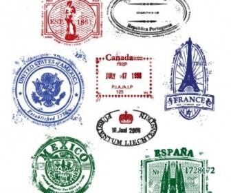 Seal Stamp Vectors