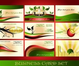 Exquisite Vector Card Design Template