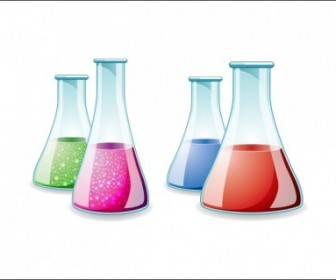 Lab Bottle Vector