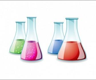 Lab Bottle Vector