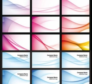 Dynamic Curve Background Vector Art