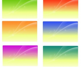 Colored Background Vector Art