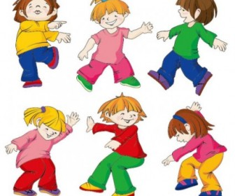 Cartoon Children Vectors