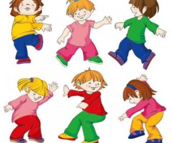 Cartoon Children Vectors
