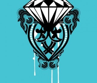 Vector Diamond Shape