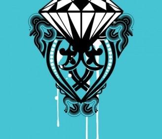 Vector Diamond Shape