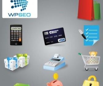 Shopping Icons Vector Pack