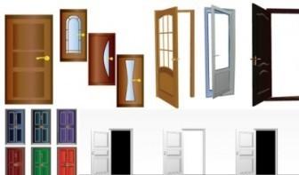 Vector Security Door Vector Art