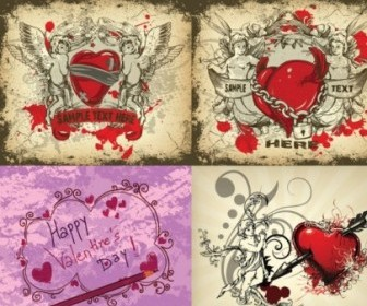 Vector Angels And Love Vector Art