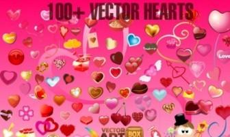 Vector Clip Heart Vector Art
