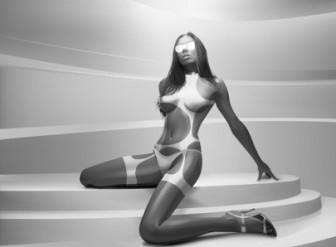 Realistic Bikini Woman Vector