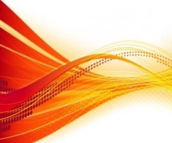 Vector Dynamic Flow Line Bannervector Vector Banner