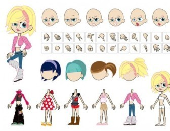 Female Characters Vector Pack