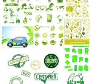Environmental Icons Vector Design Pack