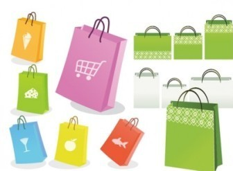 Vector Shopping Bags Design
