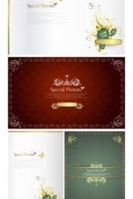 Europe Pattern Card Background Design