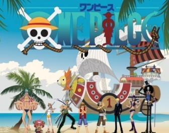 Vector One Piece Straw Hat Pirates Family Portrait Vector Art