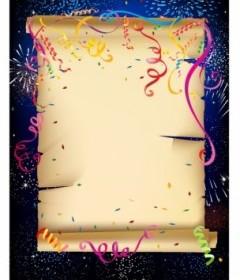 Celebration Paper Vector